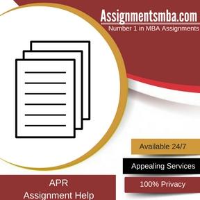 APR Assignment Help