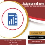 Advanced Financial Accounting and Reporting