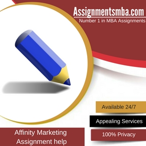 Affinity Marketing Assignment Help