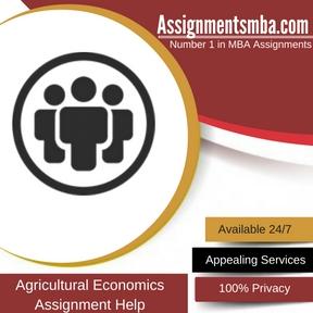 Agricultural Economics Assignment Help