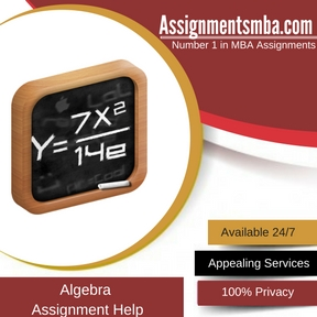 Algebra Assignment HelpAssignment Help