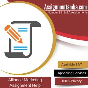 Alliance Marketing Assignment Help