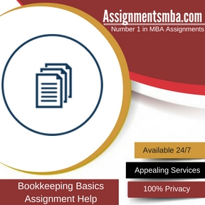 Bookkeeping Basics Assignment Help