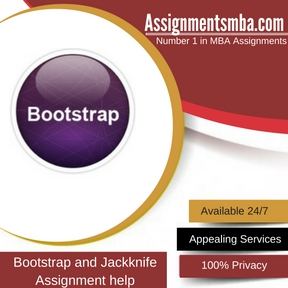Bootstrap and Jackknife Assignment Help
