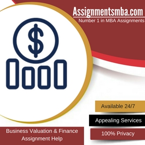 Business Valuation & Finance Assignment Help