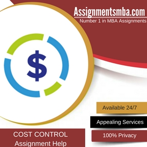 COST CONTROL Assignment Help