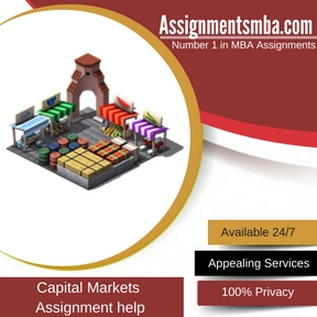 Capital Markets Assignment Help