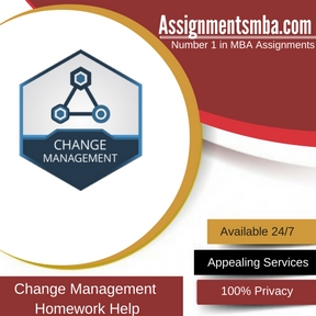 Change Management Homework Help