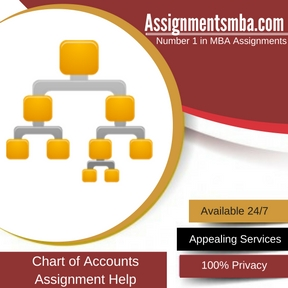 Chart of Accounts Assignment Help