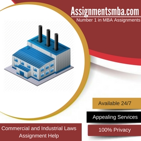 Commercial and Industrial Laws Assignment Help