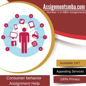 Consumer behavior Assignment Help