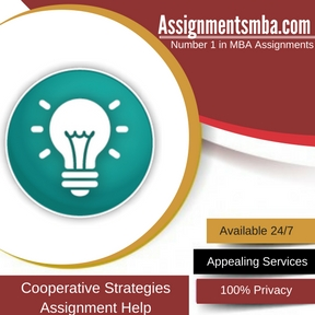 Cooperative Strategies Assignment Help