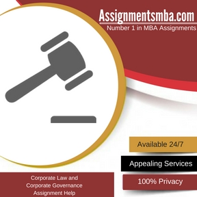 Corporate Law and Corporate Governance Assignment Help