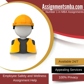 Employee Safety and Wellness Assignment Help