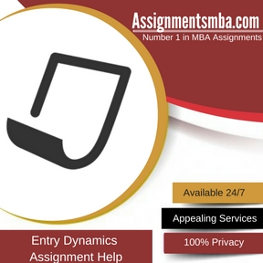 Entry Dynamics Assignment Help