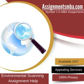 Environmental Scanning Assignment Help