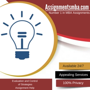 Evaluation and Control of Strategies Assignment Help