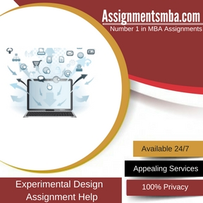 Experimental Design Assignment Help