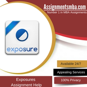 Exposures Assignment Help
