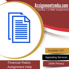 Financial Ratios Assignment Help