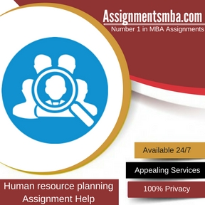 Human resource planning: Assignment Help
