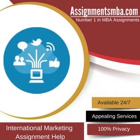 International Marketing Assignment Help
