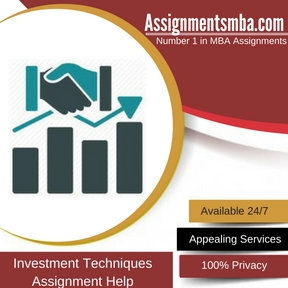 Investment Techniques Assignment Help