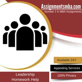 Leadership Homework Help