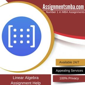 Linear Algebra Assignment Help