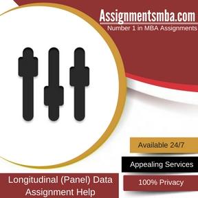Longitudinal (Panel) Data Assignment Help