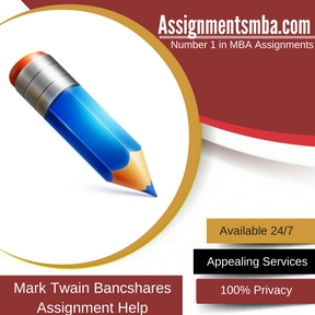 Mark Twain Bancshares, Inc Assignment Help