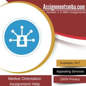 Market Orientation Assignment Help