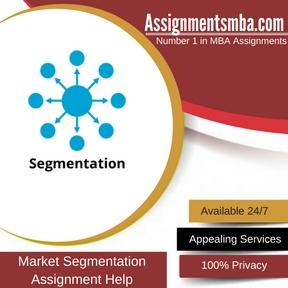 Market Segmentation Assignment Help
