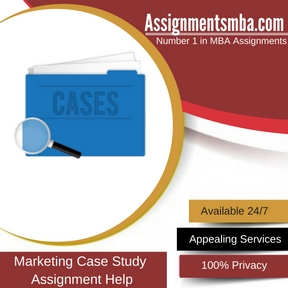 Marketing Case Study Assignment Help