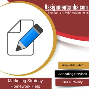Marketing Strategy Homework Help