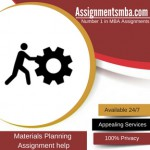 Materials Planning
