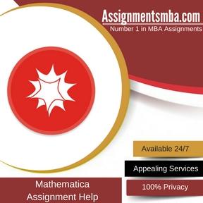 Mathematica Assignment Help