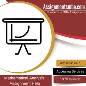 Mathematical Analysis Assignment Help