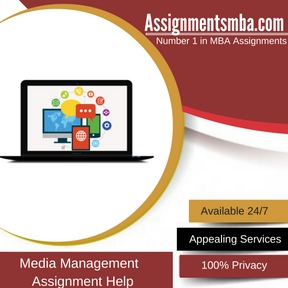 Media Management Assignment Help