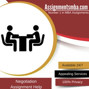 Negotiation Assignment HelpNegotiation Assignment Help