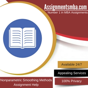 Nonparametric Smoothing Methods Assignment Help