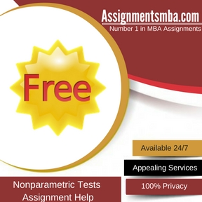 Nonparametric Tests Assignment Help