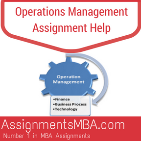 Operations management assignment