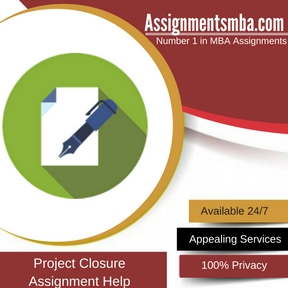 Project Closure Assignment Help