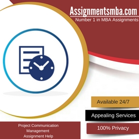 Project Communication Management Assignment Help