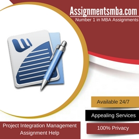 Project Integration Management Assignment Help