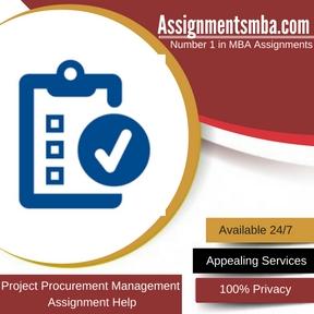 Project Procurement Management Assignment Help