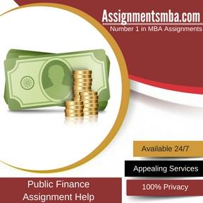 Public Finance Assignment Help
