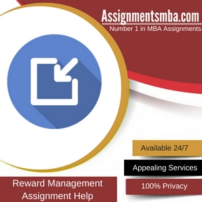 Reward Management Assignment Help