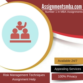 Risk Management Techniques Assignment Help